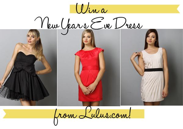 75551ec87 Win a New Year's Eve Dress from Lulus.com! | Kendi Everyday