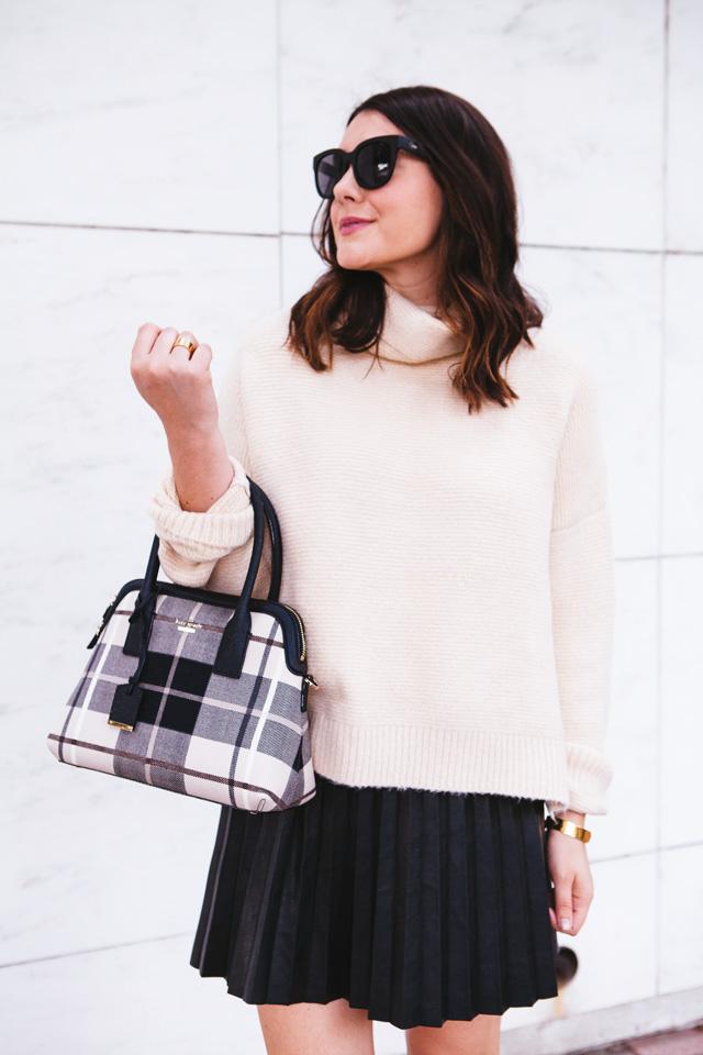 Leather Skirt Three Ways | Kendi Everyday