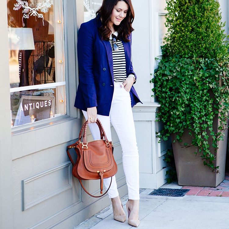 Found the best little blazer for spring on the bloghellip