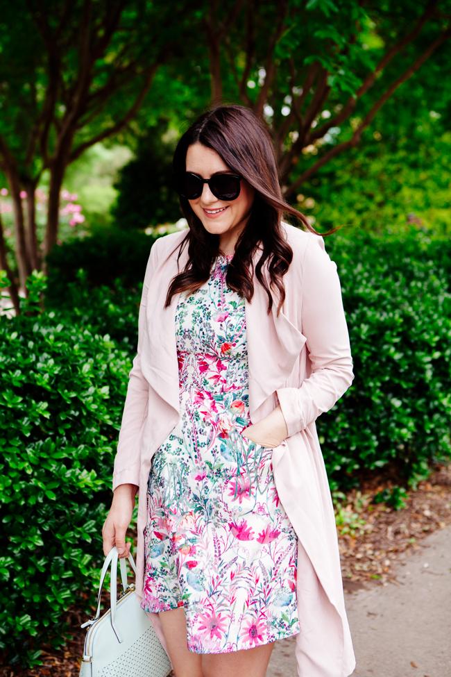 Spring Floral Dress on Kendi Everyday