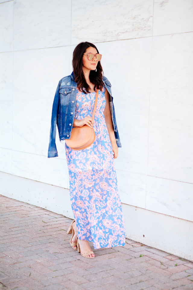 Floral Maxi Dress for Spring on Kendi Everyday