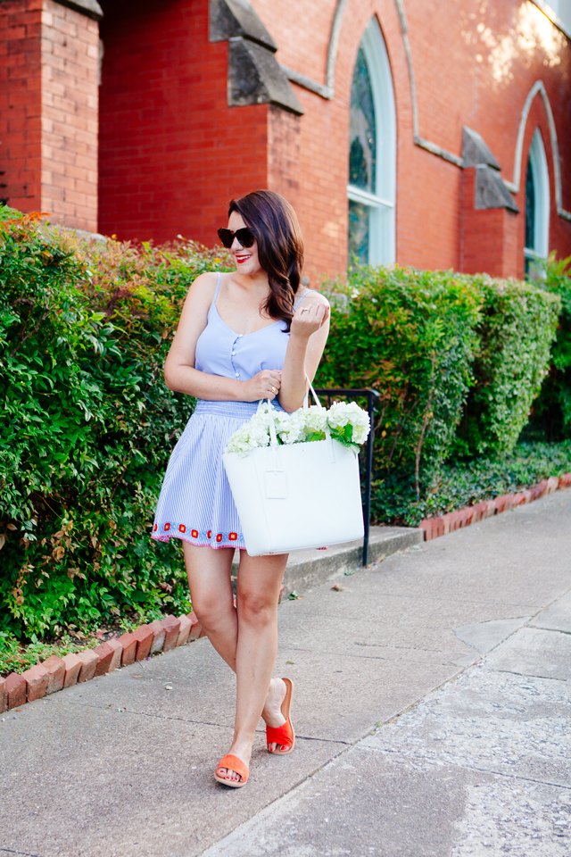 Red, White and Blue Outfit on Kendi Everyday