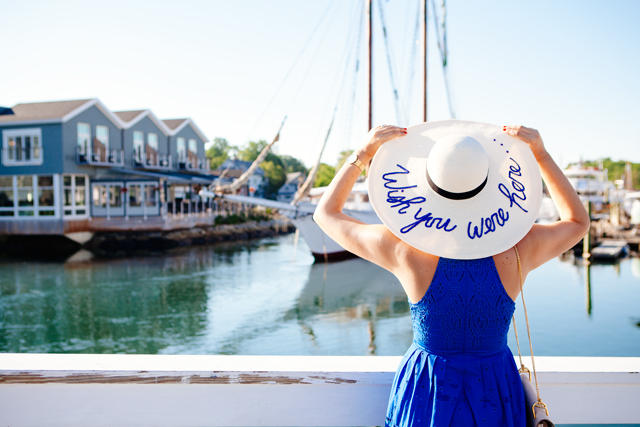 Wish You Were Here Hat on Kendi Everyday