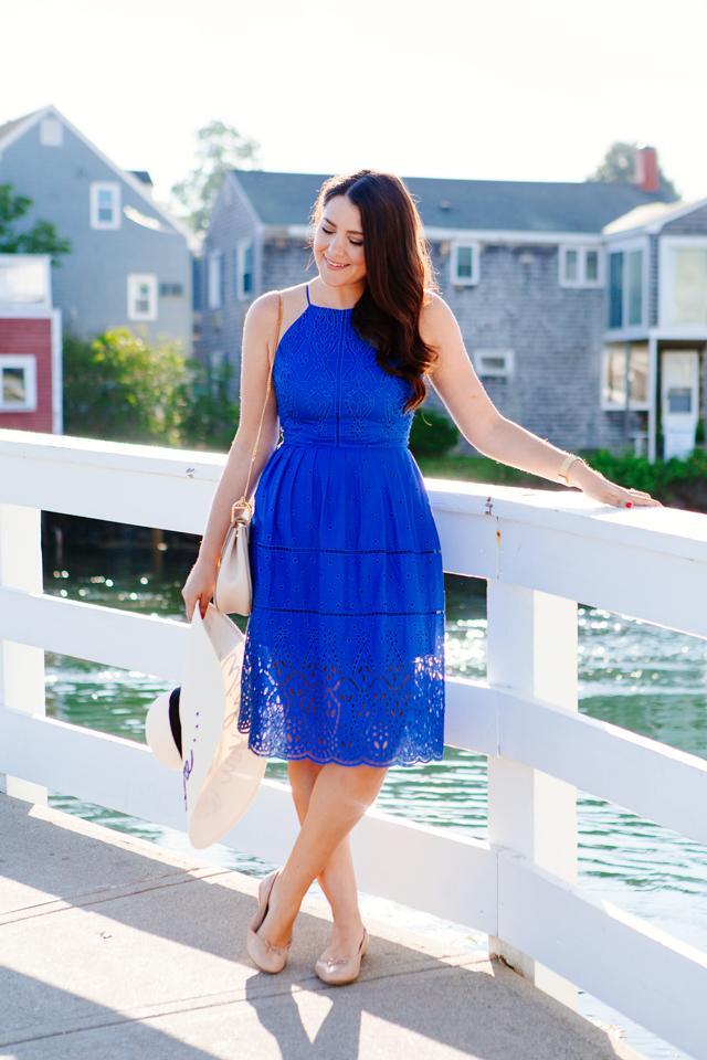 Bright Blue Dress on Kendi Everyday