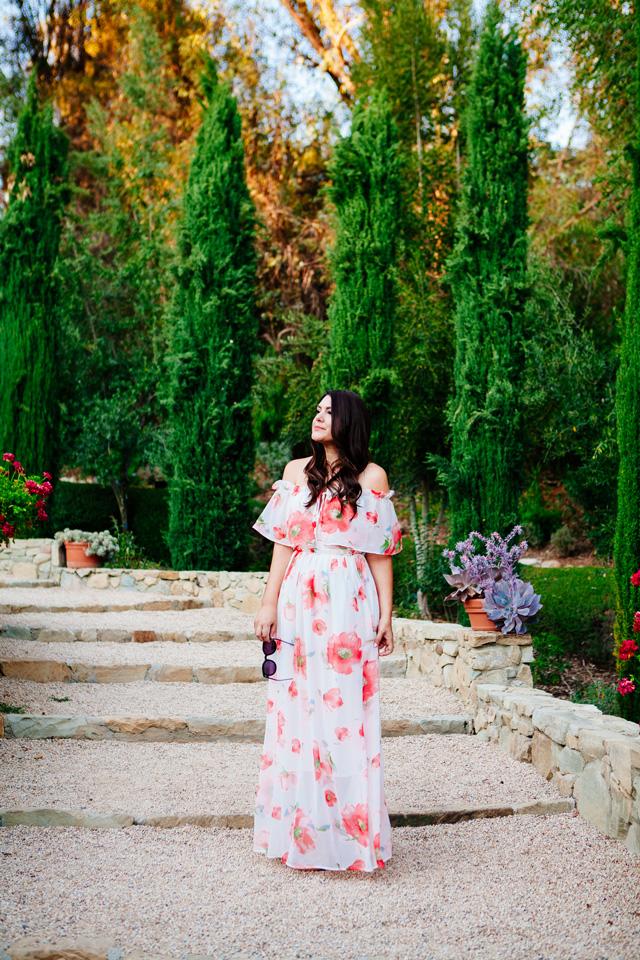 Floral Maxi Dress on Kendi Everyday