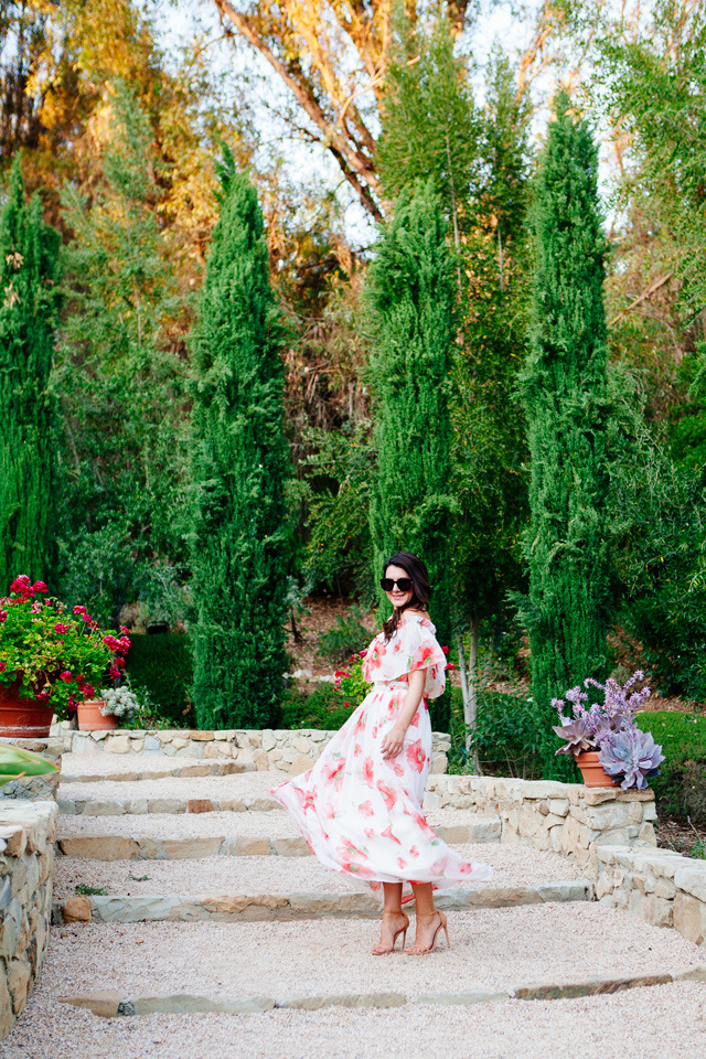 Floral Maxi Dress on Kendi Everyday