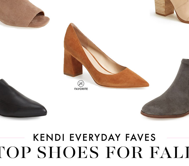 Kendi Everyday's Top Shoes for Fall