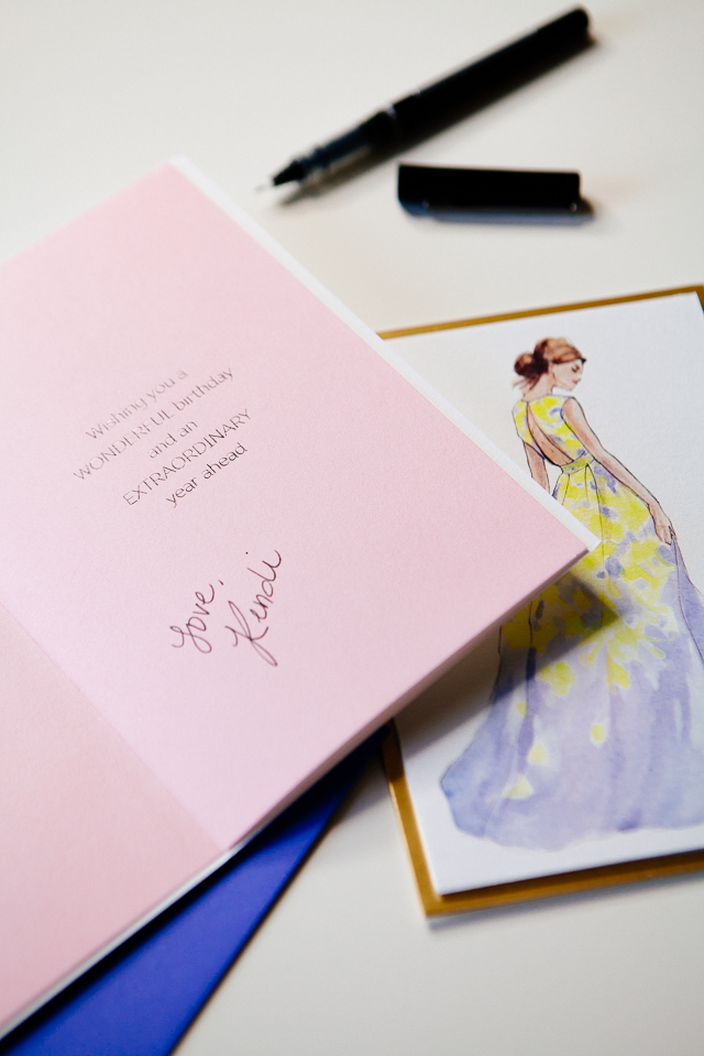 The Art of a Thank You Note featuring Lela Rose x Papyrus Stationary