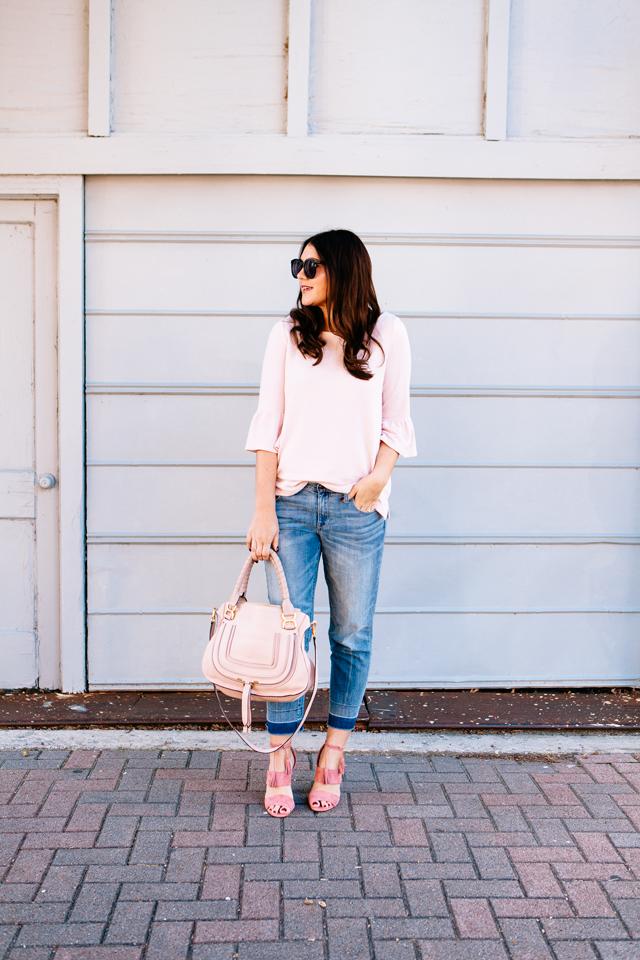 Pink Suede Heels | Kendi Everyday