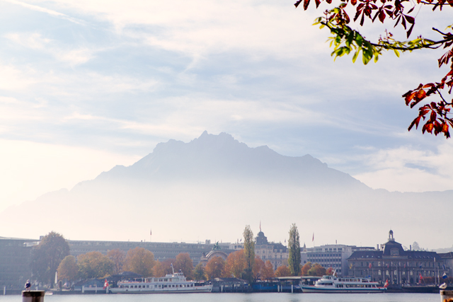 Mount Pilatus in Lucerne, Switzerland