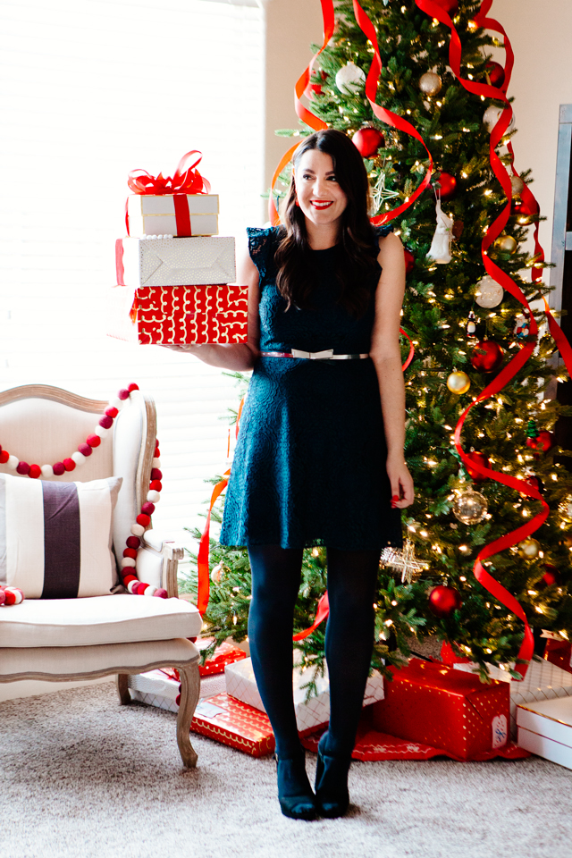 Loft Lace Dress + My Holiday Hacks