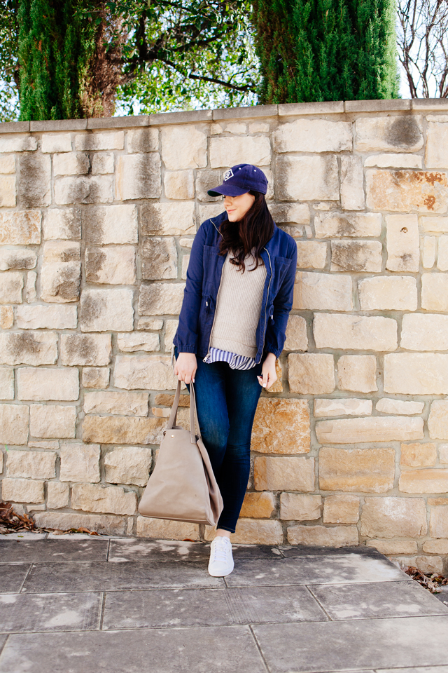 Old Navy spring layers perfect for the weekend, on Kendi Everyday