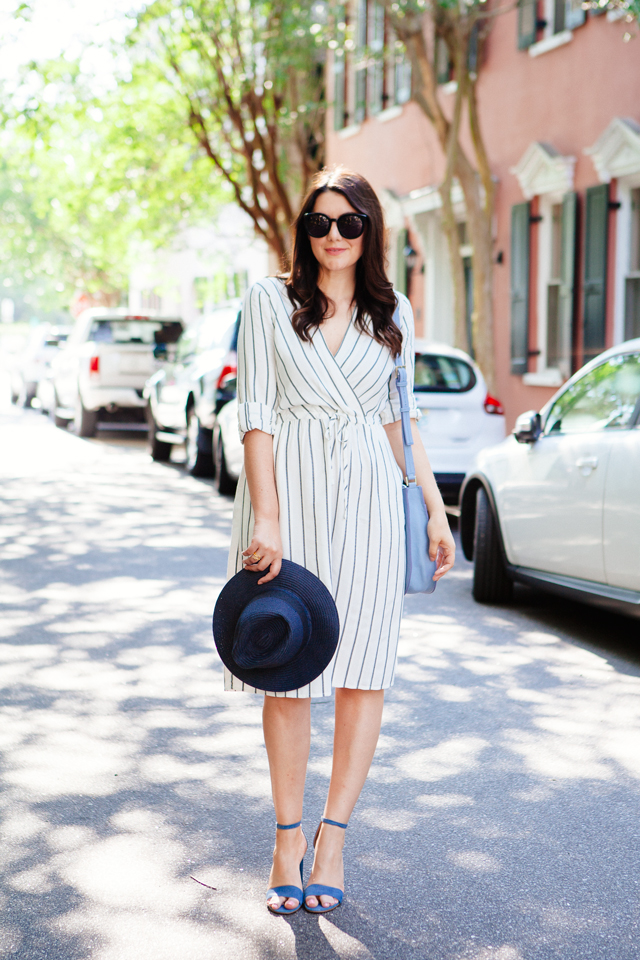 Striped dress in Charleston
