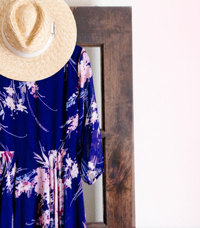 Yumi Kim Maxi Dress and hat