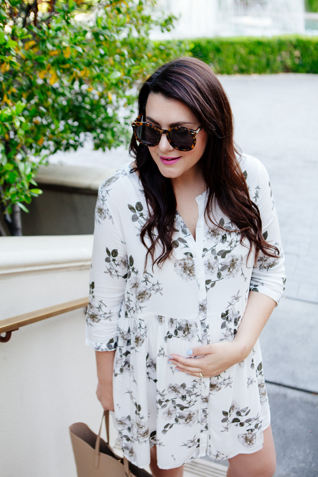 Floral Dress under $100 from Nordstrom, spring style.