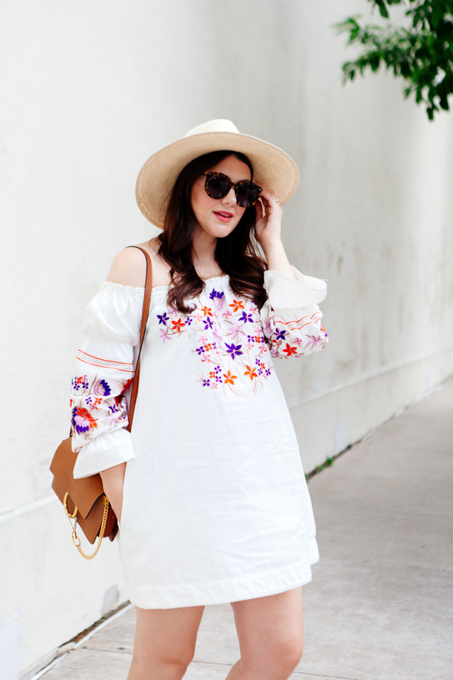 Free People Embroidered Dress