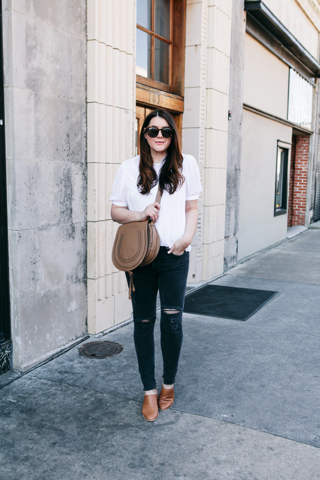hinge-white-blouse-agolde-distressed