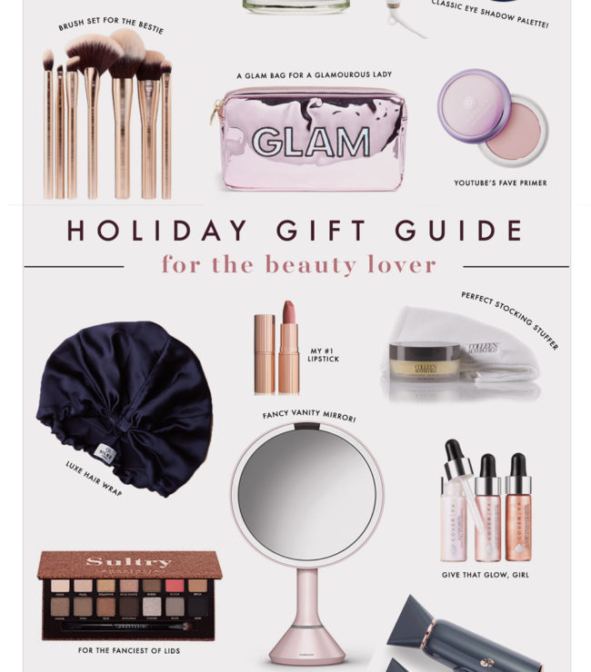8765b2d3da9eeb Holiday Gift Guides  For The Beauty Lover