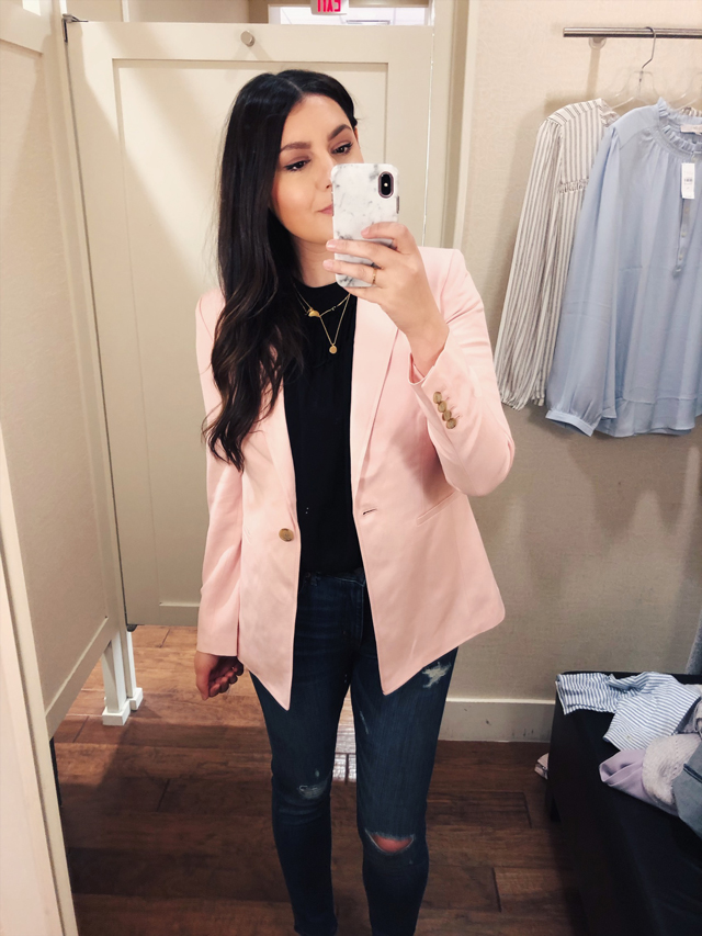 924f79aed11 Ya ll. THIS BLAZER MADE MY DREAMS COME TRUE YESTERDAY. We walked in the  door and it was there