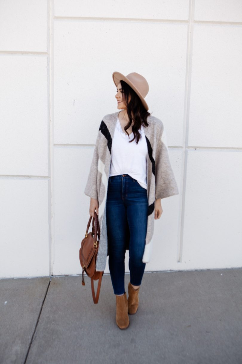 Sweater Coat for Fall