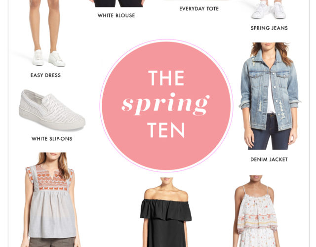 10 Spring Closet Updates + Essentials