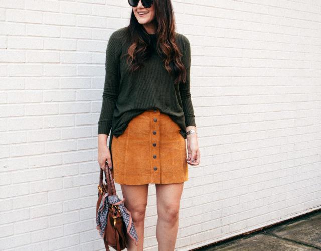 Pumpkin Spice Skirt