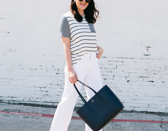 Tried It! Wide Leg White Denim