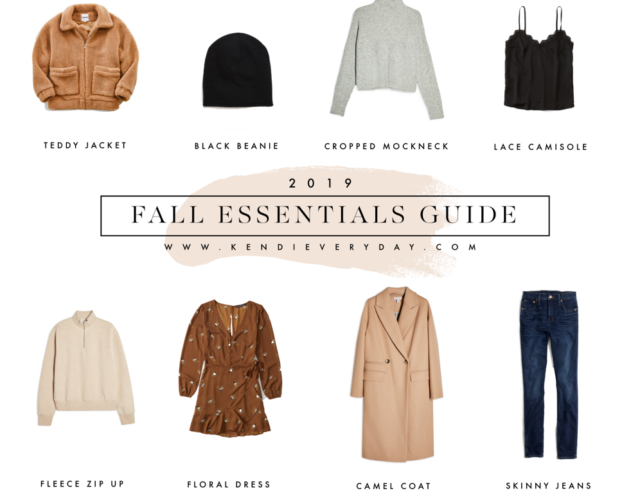 Fall Essentials Guide