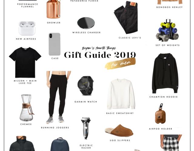 2019 Gift Guide for Men
