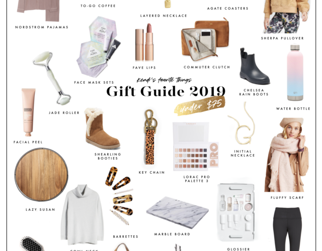 2019 Gift Guide: Kendi's Favorite Things Under $75