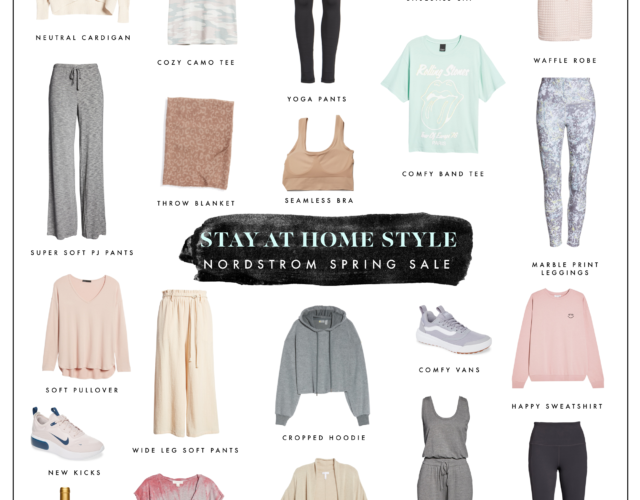 Nordstrom 40% off Sale: Stay Home Style